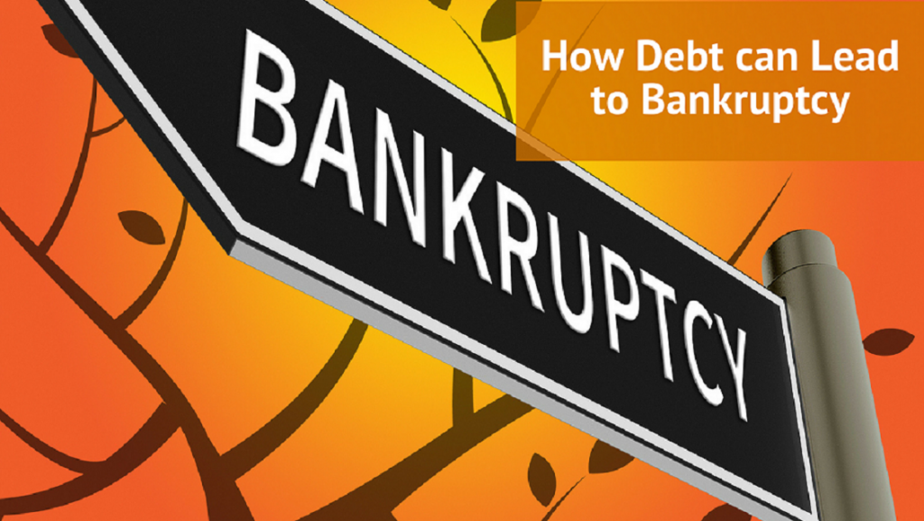How Debt can Lead to Bankruptcy