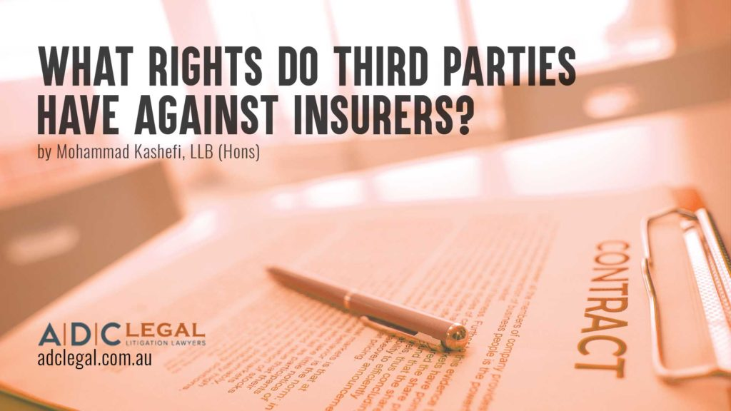 What Rights do Third Parties Have Against Insurers