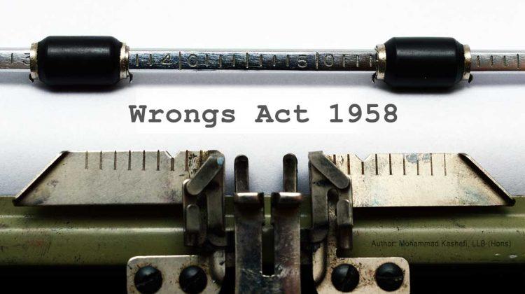 Wrongs Act