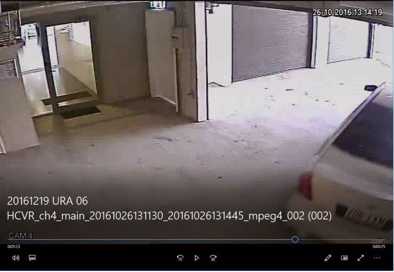 CCTV footage - Strata Insurance Claim