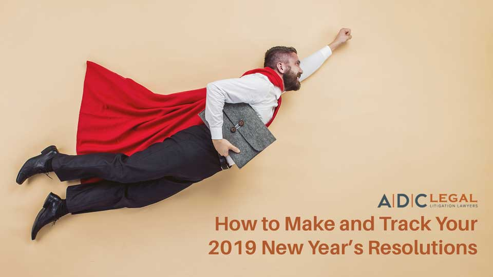 How to Make and Track Your 2019 New Year's Resolutions