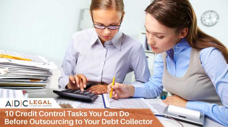 10 Credit Control Tasks You Can Do Before Outsourcing to Your Debt Collector - ADC Legal
