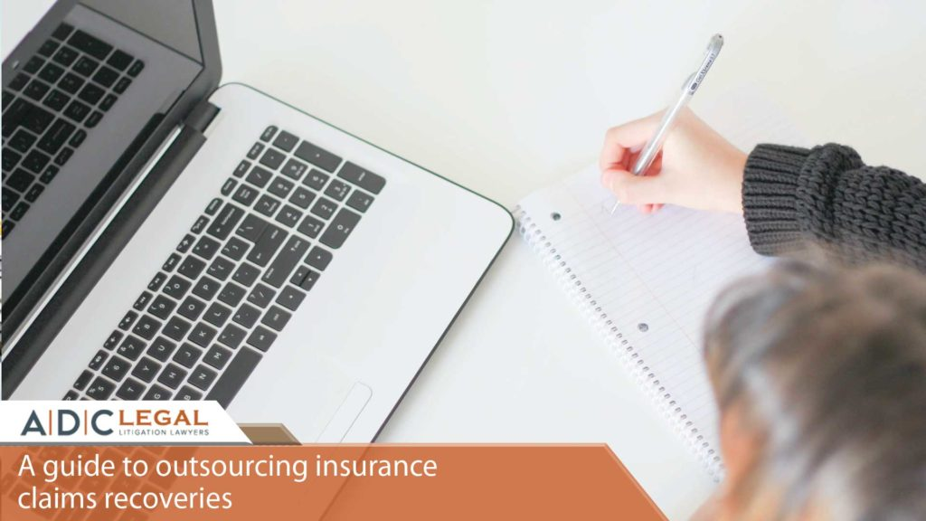 A guide to outsourcing insurance claims recoveries